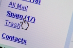 Spam email mailbox folder