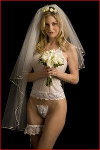 bridal c-string